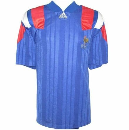 1992-1994 France Home Football Shirt, Adidas, XL (Mint Condition)